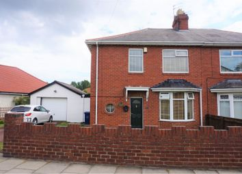 Thumbnail 3 bed semi-detached house for sale in Scrogg Road, Newcastle Upon Tyne