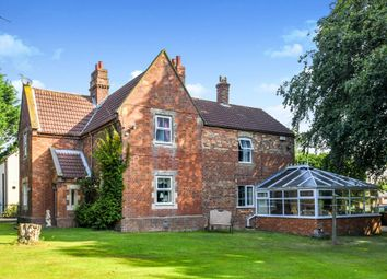 Thumbnail 6 bed detached house for sale in Main Road, Utterby, Louth