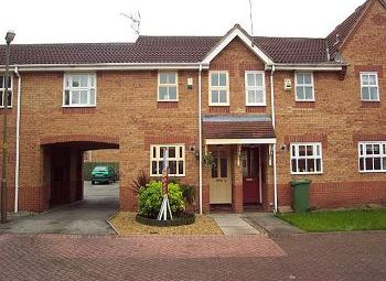 Thumbnail 2 bed mews house to rent in Tiffield Court, Winsford, Cheshire