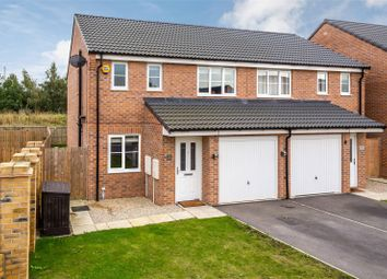 Thumbnail 3 bed semi-detached house for sale in Palm House Drive, Selby, North Yorkshire