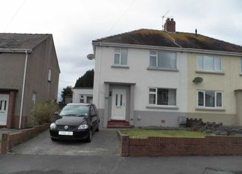 Thumbnail 3 bed semi-detached house for sale in Bryneithin, Pembrey, Burry Port