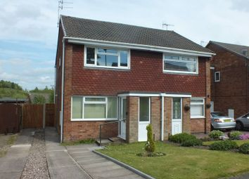 Thumbnail 2 bedroom semi-detached house to rent in Meadow Road, Chell Heath, Stoke-On-Trent