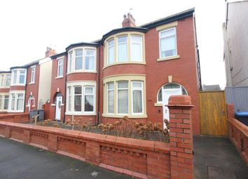 Thumbnail 3 bed semi-detached house for sale in Holmfield Road, North Shore, Blackpool, Lancashire