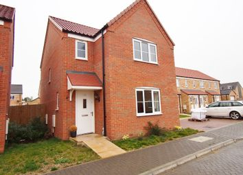 Thumbnail 3 bed detached house for sale in Dove Avenue, Wymondham