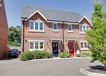 Thumbnail 3 bed semi-detached house for sale in Hodgson Way, Gilston, Harlow, Hertfordshire