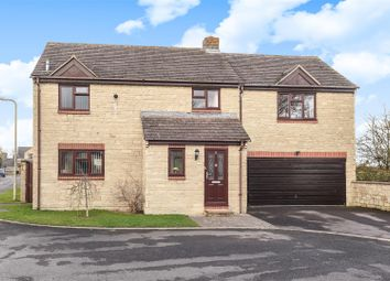 Thumbnail 4 bed detached house for sale in Chestnut Close, Brize Norton, Carterton