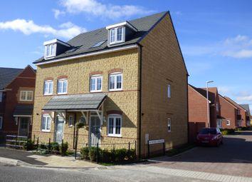 Thumbnail 3 bedroom semi-detached house to rent in Greycing Street, St Andrews Ridge, Swindon