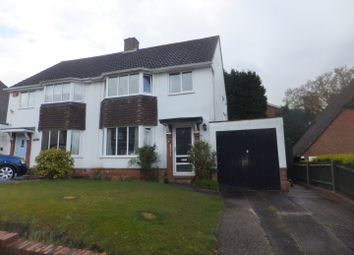 Thumbnail 3 bed semi-detached house for sale in Rectory Park Avenue, Sutton Coldfield
