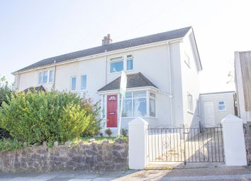 Thumbnail 3 bed semi-detached house for sale in Compton Avenue, Mannamead, Plymouth