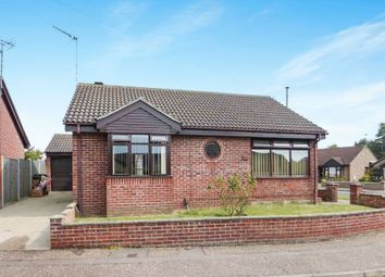 Thumbnail 2 bed detached bungalow for sale in Blackbird Close, Bradwell, Great Yarmouth