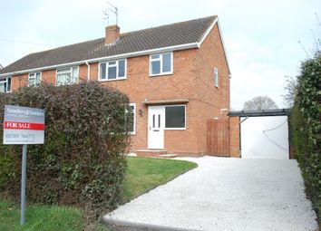 Thumbnail 3 bed semi-detached house for sale in School Road, Great Alne, Alcester
