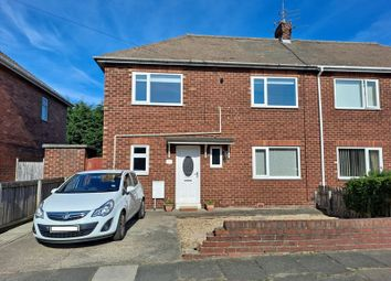 Thumbnail 3 bed semi-detached house for sale in Reavley Avenue, Bedlington