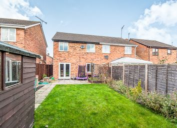 Thumbnail 3 bed semi-detached house for sale in Deerpark Road, Sawtry, Huntingdon
