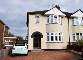 Thumbnail 3 bedroom semi-detached house for sale in Campbell Close, Chelmsford