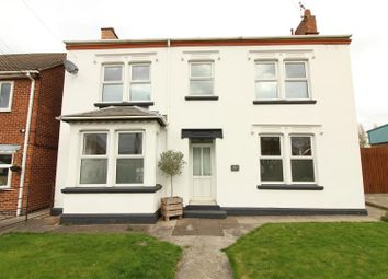 Thumbnail 4 bed detached house to rent in Sileby Road, Barrow Upon Soar, Loughborough