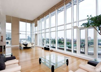 Thumbnail 4 bed flat to rent in Riverside Tower, Imperial Wharf, London