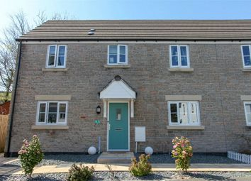 Thumbnail 3 bed semi-detached house for sale in Cookworthy Close, Penwithick, St Austell, Cornwall