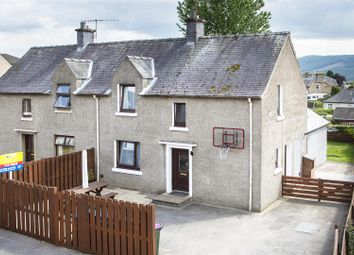 Thumbnail 4 bed semi-detached house for sale in James Place, Pitlochry