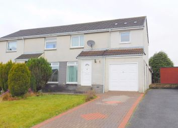 Thumbnail 3 bed semi-detached house for sale in Menteith Drive, Dunfermline