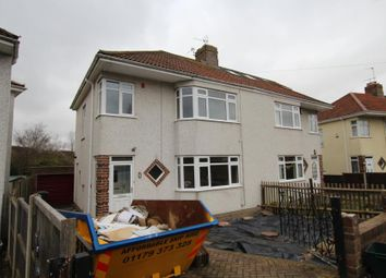 Thumbnail 3 bedroom property to rent in Braemar Crescent, Bristol