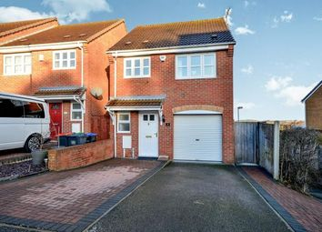 Thumbnail 3 bedroom detached house for sale in Derwent Drive, Kirkby In Ashfield, Nottingham, Nottinghamshire