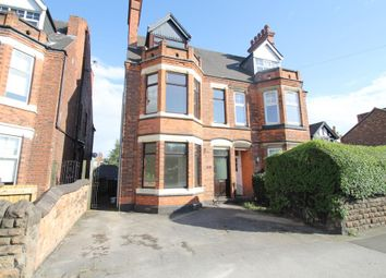 Thumbnail 4 bedroom semi-detached house to rent in Woodborough Road, Mapperley, Nottingham