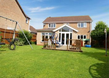 Thumbnail 4 bed detached house for sale in Bradley Road, Waltham, Grimsby, Lincolnshire