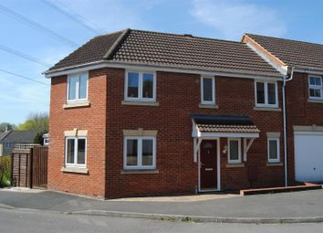 Thumbnail 3 bed end terrace house for sale in Waggoner Close, Swindon