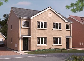 Thumbnail 3 bed semi-detached house for sale in The Lyndhurst Deluxe, Lumley Fields