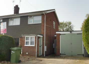Thumbnail 3 bed semi-detached house for sale in Partridge Road, Aylsham, Norwich