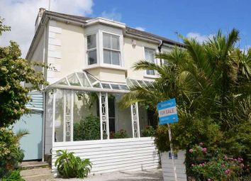 Thumbnail 5 bed semi-detached house for sale in Kimberley Park Road, Falmouth