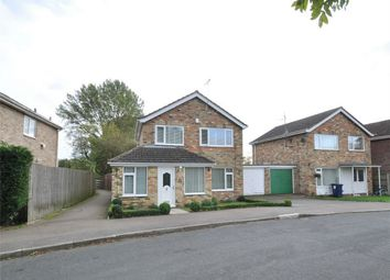 Thumbnail 3 bed detached house for sale in Layton Crescent, Brampton, Huntingdon, Cambridgeshire