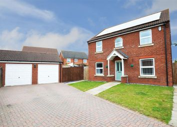 Thumbnail 4 bed detached house for sale in Monks Close, Quarrington, Sleaford
