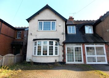 Thumbnail 3 bed semi-detached house for sale in Lyttelton Road, Stechford, Birmingham