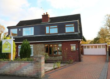 Thumbnail 3 bed semi-detached house for sale in Cadeby Grove, Milton, Stoke-On-Trent