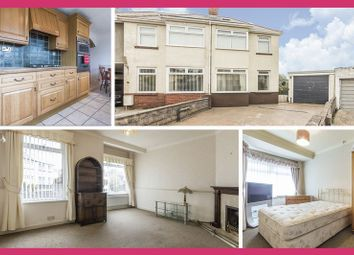 Thumbnail 3 bedroom semi-detached house for sale in Ty Fry Gardens, Rumney, Cardiff