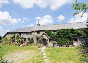 Thumbnail 5 bedroom country house for sale in Sampford Spiney, Yelverton