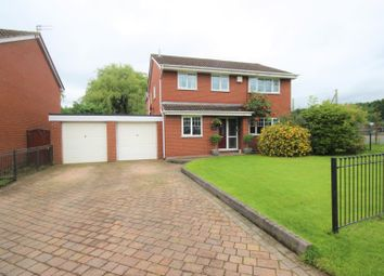 Thumbnail 4 bed detached house for sale in Welbeck Road, Ellesmere Park, Manchester