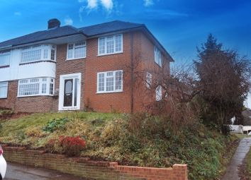 Thumbnail 4 bed semi-detached house for sale in Povey Avenue, Rochester