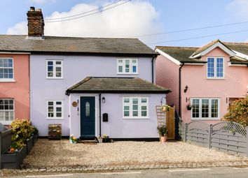 Thumbnail 4 bed semi-detached house for sale in Half Way Cottages, Coggeshall Road, Colchester, Essex