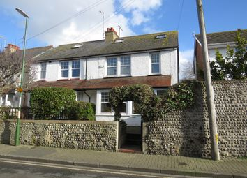 Thumbnail 2 bed semi-detached house for sale in John Street, Shoreham-By-Sea