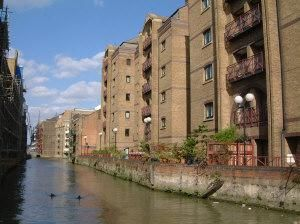 Thumbnail 2 bed flat to rent in Scotts Sufferance Wharf, Mill Street SE1, London,