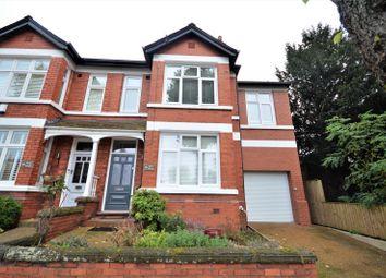 Thumbnail Semi-detached house for sale in Grappenhall Road, Stockton Heath, Warrington