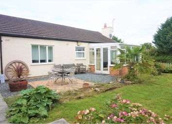 Thumbnail 3 bed detached bungalow for sale in Bryn Lane, Wrexham