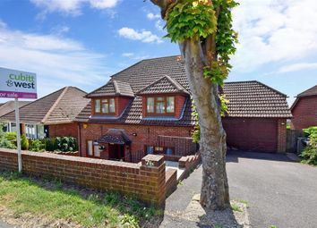Thumbnail 4 bed detached house for sale in Crescent Drive North, Woodingdean, Brighton, East Sussex