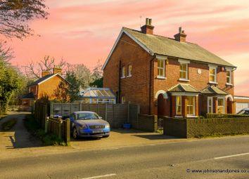 Thumbnail 3 bed semi-detached house for sale in Hardwick Lane, Chertsey