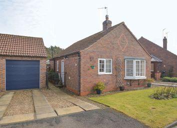 Thumbnail 2 bed detached bungalow for sale in Middlefield Close, Weaverthorpe, Malton
