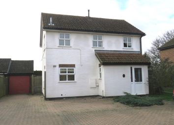 Thumbnail 3 bedroom detached house for sale in Ward Close, Bury, Ramsey, Huntingdon