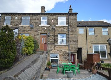 Thumbnail 3 bed terraced house for sale in Springfield Terrace, Emley, Huddersfield