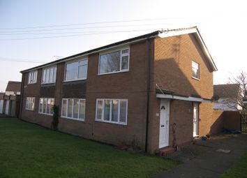 Thumbnail 2 bed flat for sale in Elm Avenue, Dinnington, Newcastle Upon Tyne